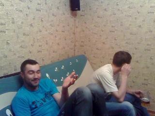 Джон и Гоша, чуваки сморят. Загружено 10 мая 2011. копро.